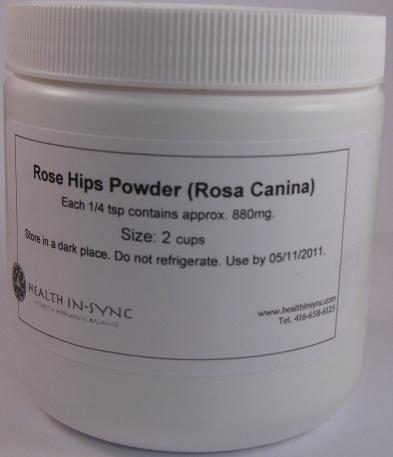 Rose Hips Powder 2 cups