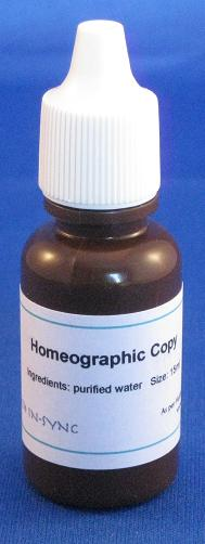 Individual Homeography Bottle