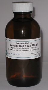 Levamisole Homeography 4oz