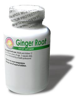 Ginger Root 500mg (100 capsules)